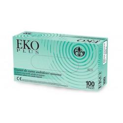 GARDENING GUANTI IN LATTICE CON POLVERE EKO PLUS 5,7GR (CONF. 100 GUANTI)