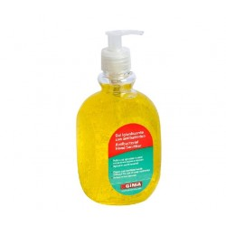 GIMA GEL ANTIBATTERICO - 500ML - GIALLO LIMONE