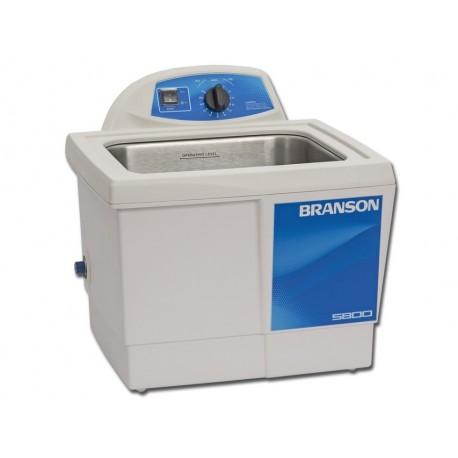 BRANSON PULITRICE AD ULTRASUONI BRANSON 5800 MH - TIMER MECCANICO E RISCALDAMENTO - 9,5 LT