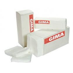GIMA COMPRESSA DI GARZA TAGLIATA IN COTONE 5X5CM - 16 STRATI NON STERILE (CONF. 100 PZ.)