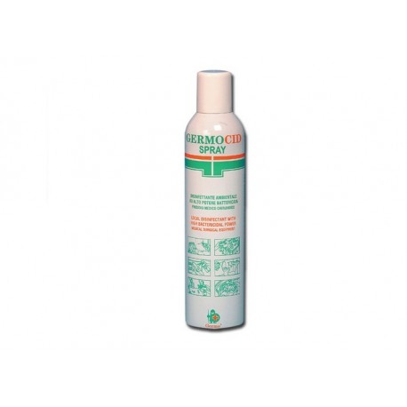 GERMO DISINFETTANTE SPRAY GERMOCID- BOMBOLA DA 400ML