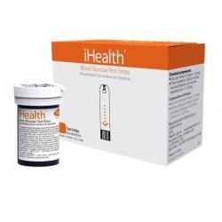 iHEALTH STRISCE GLICEMIA PER GLUCOMETRO iHEALTH BG3 E BG5 (CONF. 50 PZ.)