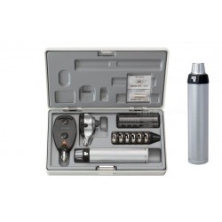 HEINE SET COMPLETO CON OFTALMOSCOPIO BETA 200 E OTOSCOPIO BETA 100