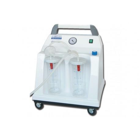 GIMA ASPIRATORE CHIRURGICO TOBI HOSPITAL - 2x2 l - 230 V - CON COMMUTATORE A PEDALE