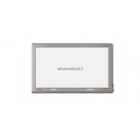 GIMA NEGATIVOSCOPIO ULTRAPIATTO LED - 41x72 cm DOPPIO