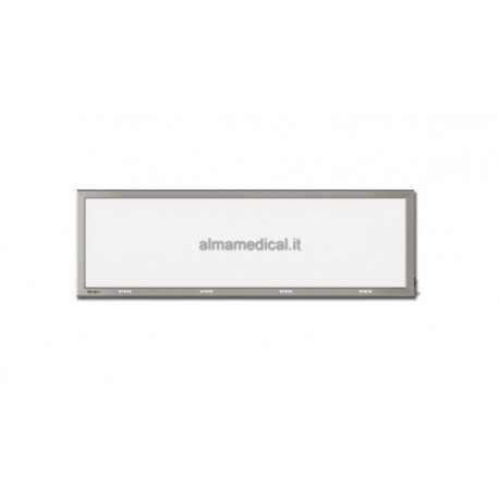 GIMA NEGATIVOSCOPIO ULTRAPIATTO LED - 41x145 cm QUADRUPLO