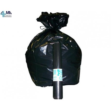 ALMAMEDICAL SACCHI PER IMMONDIZIA - 70X110 CM - 120 LT - 30 µm - NERO