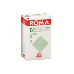 SALVADORI COMPRESSA DI GARZA PIEGATA STERILE ROMA 18X40CM - (CONF. 12 PZ.)