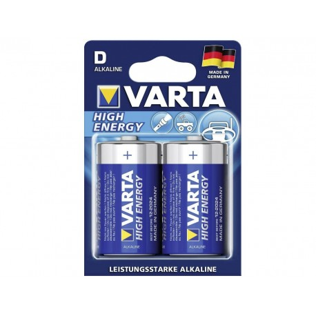VARTA BATTERIE ALKALINE VARTA HIGH ENERGY - TORCIA D (CONF. 10 X 2 PZ.)