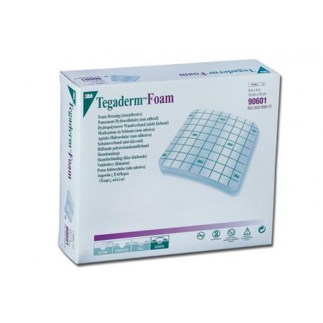 3M TEGADERM FOAM - 10X10 CM NON ADESIVO - (CONF. 10 PZ.)