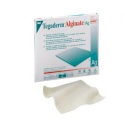 3M TEGADERM ALGINATE AG - 10 X 10 CM ARGENTO - (CONF. 10 PZ.)