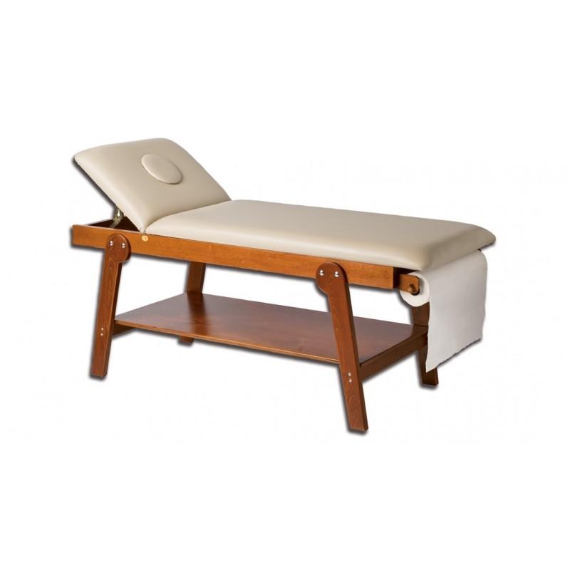 Gima lettino in legno firenze con foro e portarotolo per for Arredo sanitario