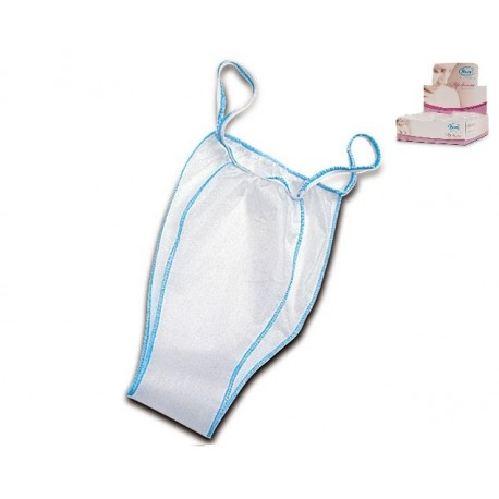 RO.IAL. SLIP MONOUSO DONNA IN TNT - IN DISPENSER - (CONF. 100 PZ.)