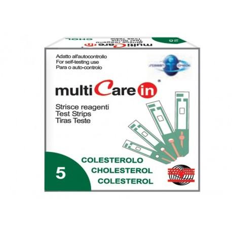 BSI MULTICARE IN STRISCE COLESTEROLO - 5 PZ. + 1 CHIP