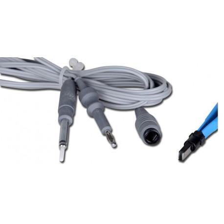 GIMA CAVO BIPOLARE - CONNETTORE EU - PER MB122, MB122D, MB132, MB160, MB160D, MB200, MB202
