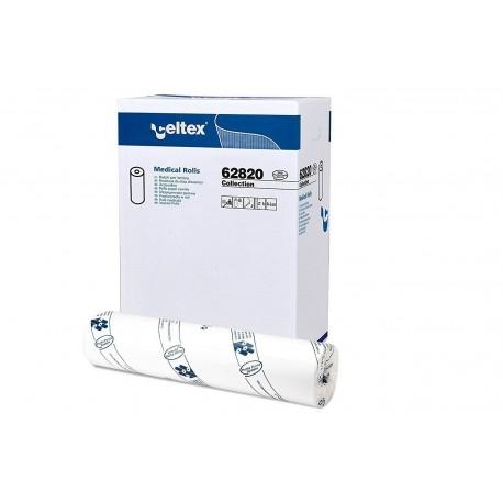 CELTEX COLLECTION LENZUOLINO MEDICO PURA CELLULOSA 2 VELI (60CM x 80MT - CONFEZIONE DA 6 ROTOLI)