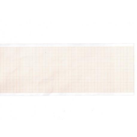 Carta termica ECG 80x20 mmxm - pacco griglia arancio