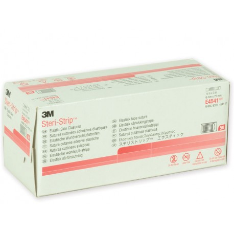 3M STERI-STRIP ELASTICI 3M - 6 X 75 MM-(CONF. 150 PZ.)