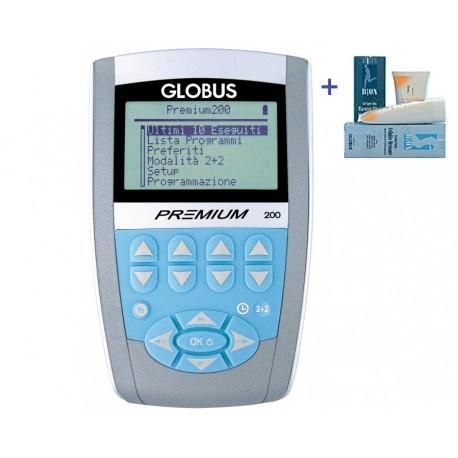 GLOBUS ELETTROSTIMOLATORE PREMIUM 200 + 1 GLOBUS CREMA RASSODANTE (SPEDIZIONE GRATUITA)