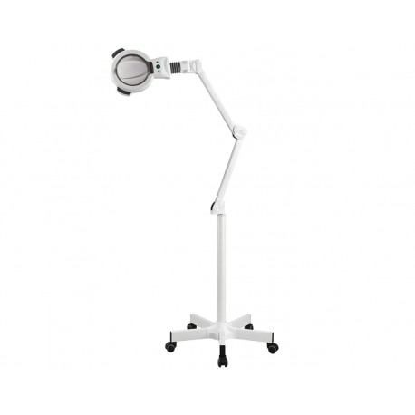 WEELKO LAMPADA A LED SU CARRELLO - LENTE D'INGRANDIMENTO A 5 DIOTTRIE (ZOOM)