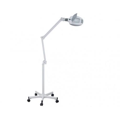 WEELKO LAMPADA A LED SU CARRELLO - LENTE D'INGRANDIMENTO A 5 DIOTTRIE (AMPLI)