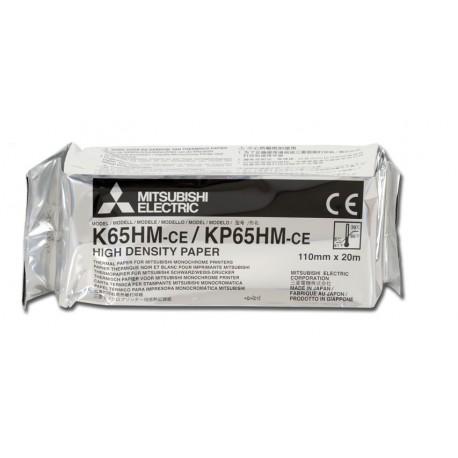 MITSUBISHI CARTA ORIGINALE PER STAMPANTE - K65HM-CE / KP65HM-CE - IN FORMATO A6 - (CONF. 4 PZ.)