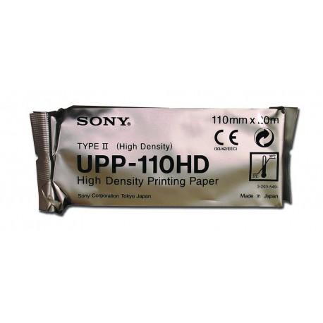 SONY CARTA SONY UPP 110HD ORIGINALE (CONF. 10 PZ) - CARTA B/N ALTA DENSITÁ PER ECOGRAFI