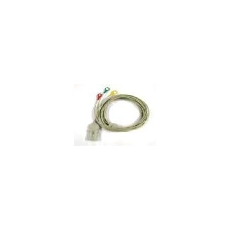 CU MEDICAL SYSTEMS CAVO ECG 3 LEADS PER CU-ER1, CU-ER2, CU-ER3