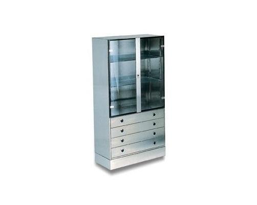 Galeno armadio per sala operatoria acciaio inox cassetti