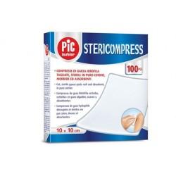ARTSANA STERICOMPRESS COMPRESSE TAGLIATE STERILI IN TNT 10CMX10CM - (CONF. 2.400 PZ.)