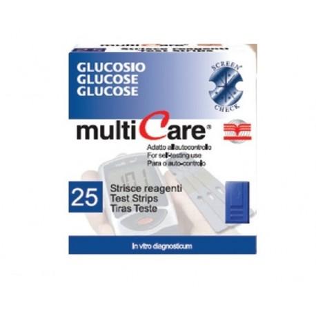 BSI STRISCE MULTICARE GLICEMIA (CONF. 25 PZ.)