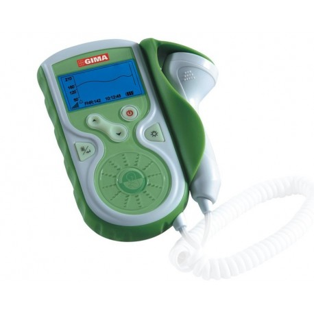 GIMA DOPPLER FETALE BABY SOUND CON DISPLAY E SONDA DA 1 MHz