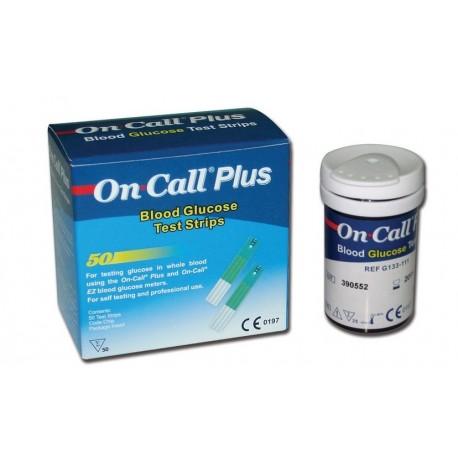 ACON STRISCE GLICEMIA ON CALL PLUS (CONF. 50 STRISCE.)