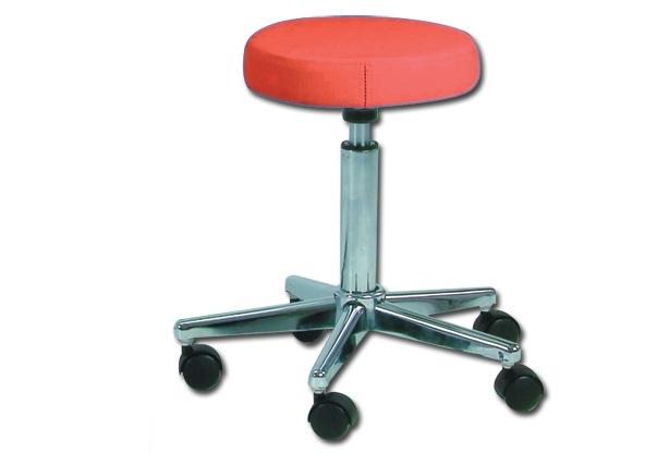Gima sgabello con ruote con base in metallo sedili di vari