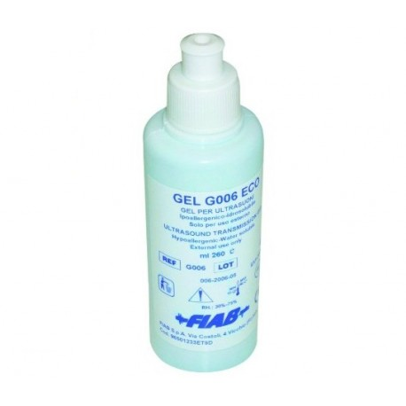 FIAB GEL PER ULTRASUONI - FLACONE DA 260ML