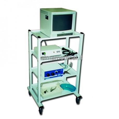 GIMA CARRELLO EXCEL - 4 RIPIANI - 60X45X110