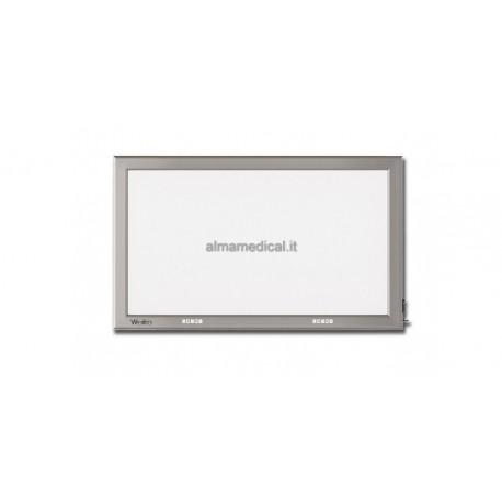 GIMA NEGATIVOSCOPIO ULTRAPIATTO LED - 41x72 cm DOPPIO