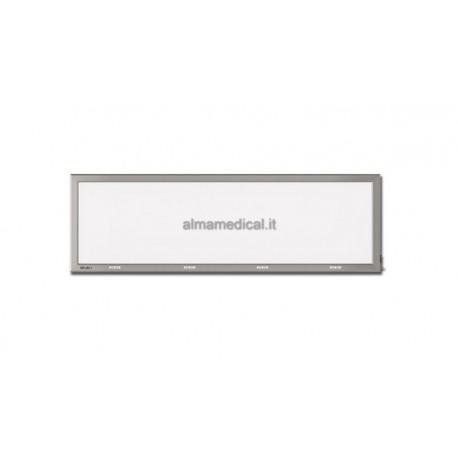 GIMA NEGATIVOSCOPIO ULTRAPIATTO LED - 41x145 cm QUADRUPLO