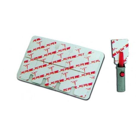 3M ELETTRODO MONOUSO 3M RED DOT 2330 - 32 X 22 MM - (CONF. 100 PZ.)