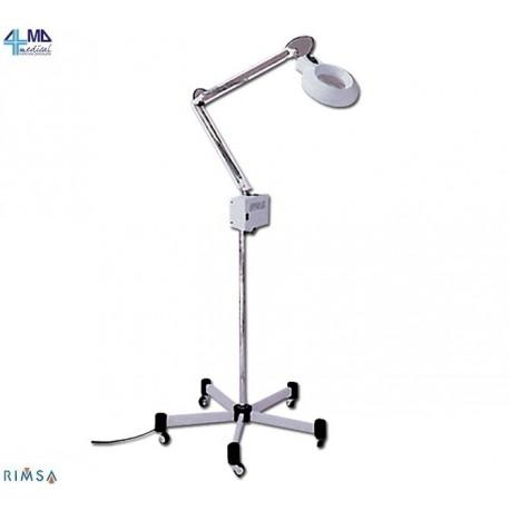 RIMSA LAMPADA FLUORESCENTE SOLENORD - SU CARRELLO - 550 LUX