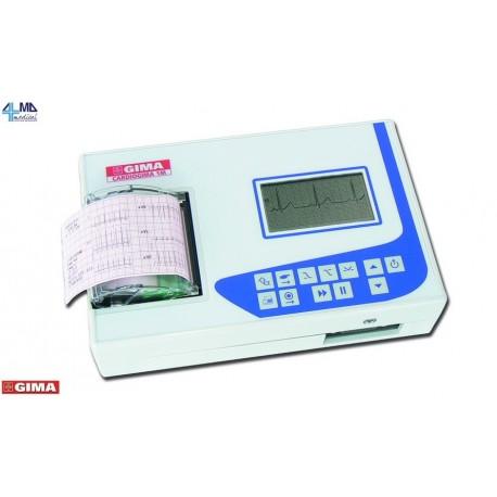 GIMA  ELETTROCARDIOGRAFO ECG CARDIOGIMA 1M - 1-3 CANALI - CON MONITOR