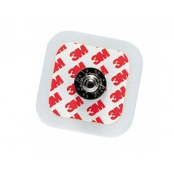 3M ELETTRODI CON SUPPORTO IN FOAM RED DOT 2228 - (CONF. 50 PZ.)