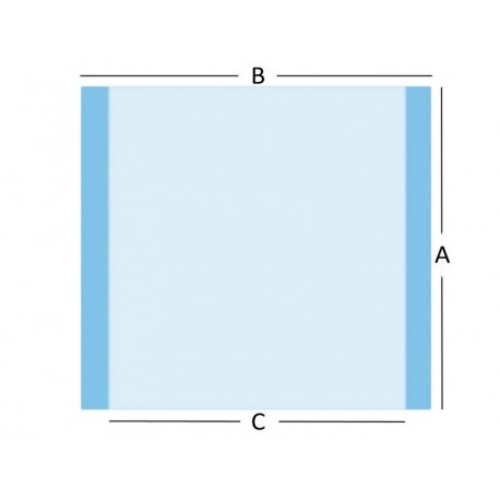GIMA TELO PER INCISIONE - 60X65 CM - STERILE - (CONF. 50 PZ.)