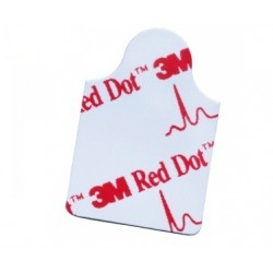3M ELETTRODI PER ECG RED DOT 2330 (CONF. 100 PZ.)
