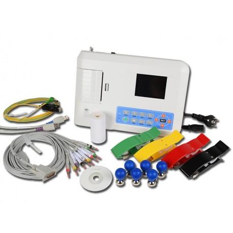 CONTEC ELETTROCARDIOGRAFO ECG CONTEC 300G - 3 CANALI CON DISPLAY