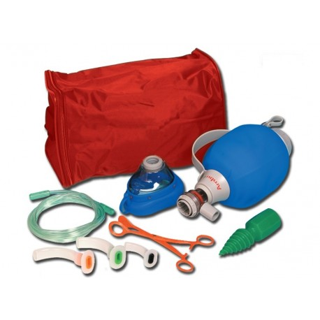 AMBU SET DI RIANIMAZIONE AMBU® MARK IV ADULTI CON MASCHERINA E ACCESSORI