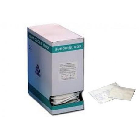 LUXOR NET COMPRESSA DI GARZA PIEGATA STERILE - 5 X 5 CM - (DISPENSER DA 350 PZ.)