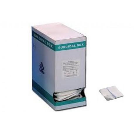 LUXOR NET COMPRESSA DI GARZA PIEGATA STERILE - 10 X 10 CM X-RAY - (DISPENSER DA 150 PZ.)