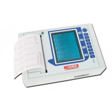 GIMA ELETTROCARDIOGRAFO ECG CARDIOGIMA 6M - 3-6-12 CANALI CON INTERPRETAZIONE