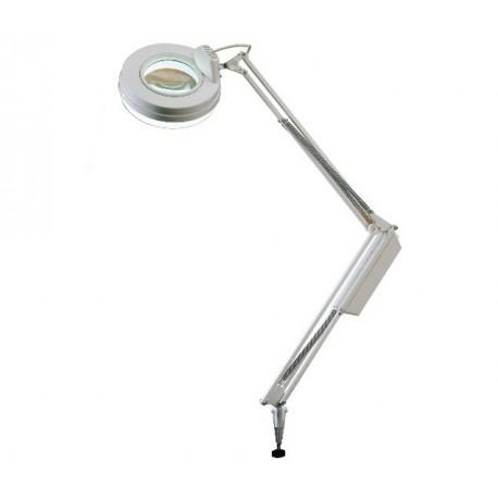 MORETTI LAMPADA CON LENTE BICONVESSA FLUORESCENTE CIRCOLARE 3+7,5 DT. BRACCIO LUNGO